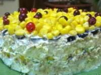 Новогодний салат из тунца