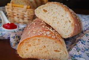 Пикантный хлеб с чёрным перцем и сыром