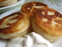 Пирожки с сыром и яйцом