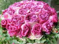 Салат «Букет из роз»