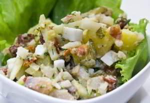 Салат из сельди по‑немецки