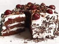 Торт шварцвальдская вишня или черный лес
