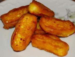 Хрустящие пончики с домашним сыром