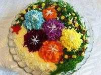 Чем оформить новогодний салат