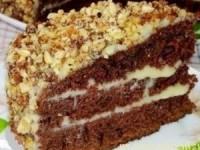 Шоколадный торт на кефире «Фантастика»