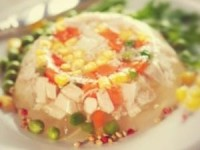 Вегетарианский холодец (постный) - новогодние рецепты