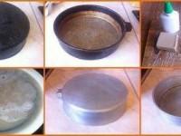 Волшебный секрет очистки бабушкиной сковороды