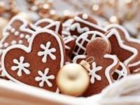 Детское имбирное печенье на елку - новогодние рецепты