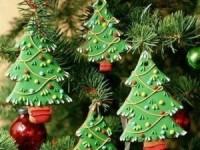 Имбирное печенье Ёлочка - новогодние рецепты