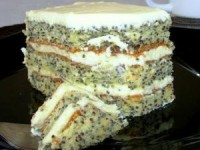 "Маковый торт "" Царица Эстер"""