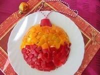 Новогодний салат Елочная игрушка - новогодние рецепты