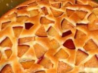 Пирог фруктовый (очень легкий)