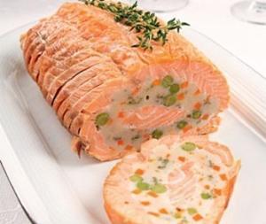 Рулет из лосося (новогодний рецепт)