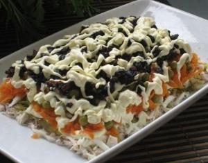 Салат очень вкусный