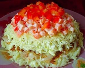 Салат простой и вкусный