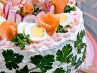 """Шведский рыбный торт """"Смёргасторте"""""""