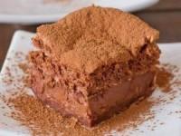"""Шоколадный """"волшебный"""" пирог"""