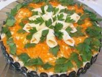 Закусочный салат Виола