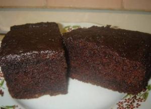 Необычное пирожное