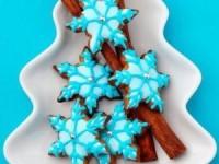Новогоднее печенье Снежинки - новогодние рецепты
