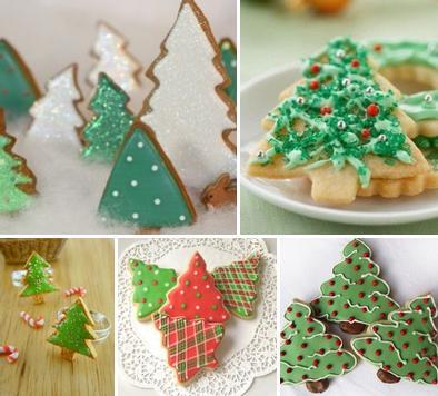 Новогоднее печенье на елку - новогодние рецепты