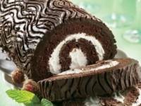 Полено шоколадное