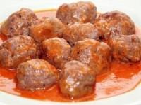 Тефтели из говядины в соусе