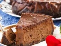 Шоколадный чизкейк на десерт