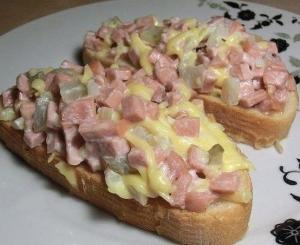"""Бутерброды """"Вкусняшка"""""""