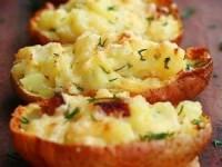 Картофель, запеченный в мундире