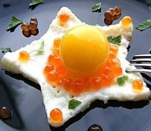 Необычная яичница