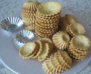 Песочное тесто для тартов, печенья, тарталеток