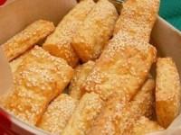 Печенье с плавленным сыром