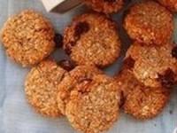 Полезное овсяное печенье без муки