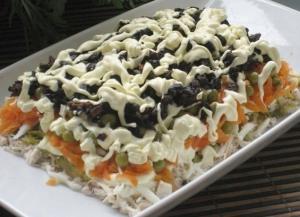 Рецепт этого салата будут выпрашивать все гости
