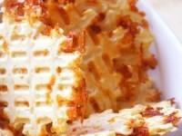 Сырно-ветчинные вафли