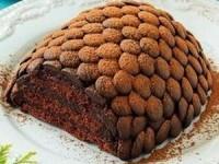 "Торт ""Еловая шишка"""