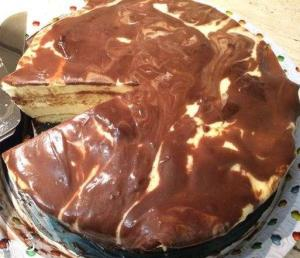 Торт Птичье молоко (мраморный)