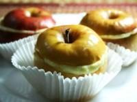Запеченные яблоки с творожно-ванильным кремом
