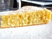 Кокосовый бисквит на кефире