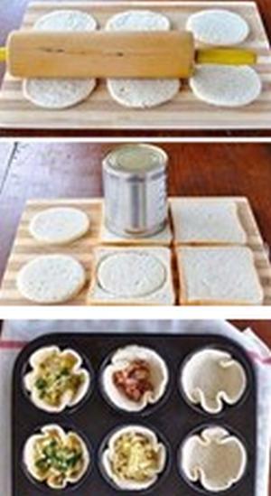 Хлебные тарталетки
