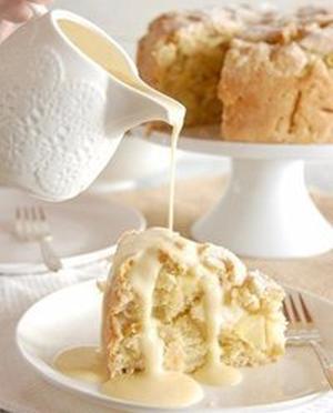Ирландский яблочный пирог с курдом