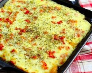 Печеный сыр к завтраку