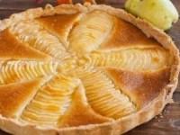 Пирог «Груши в миндальном креме»