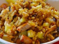 Рис с бужениной