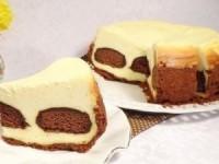 Творожный чизкейк с шоколадными пряниками