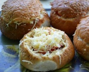 Фаршированные булочки для пикника 4