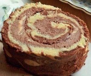 Шоколадный рулет рецепт с фото