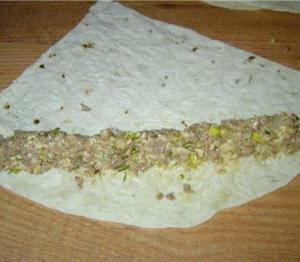 Как приготовить Горячую закуску из лаваша