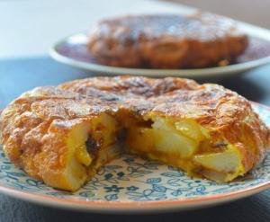 Испанская классика - тортилья с картофелем